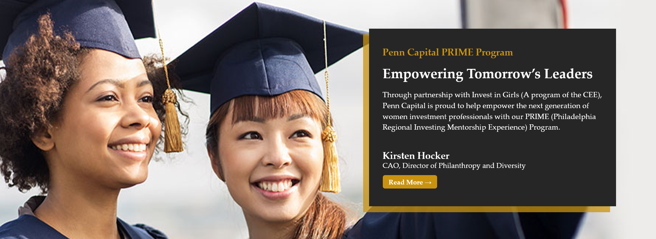 Penn Capital and Invest in Girls: PRIME Program